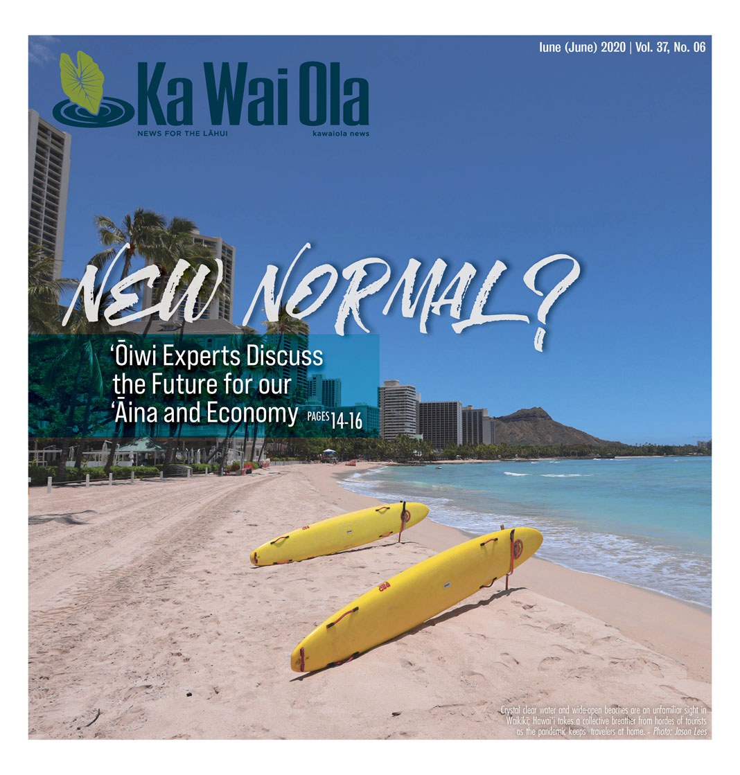 Ka Wai Ola June 2020 Cover