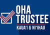 OHA Trustee: Kaua'i and Ni'ihau